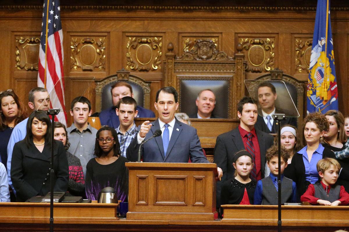 Gov. Walker Delivers 2018 State of the State Address